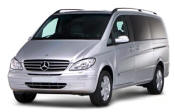Chauffeur driven Mercedes Viano people carrier - Up to 7 passengers in comfort, from Cars for Stars (Oxford)